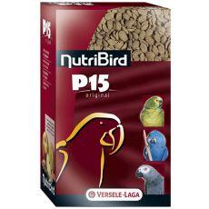 NutriBird P15 Original 1kg - granule pre papagáje