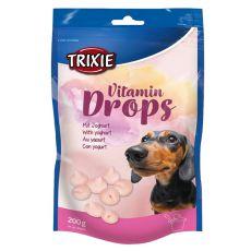 Trixie Vitamin Drops - vitamínové dropsy ( jogurt) - 200 g
