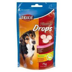 Trixie Vitamin Drops - vitamínové dropsy ( jogurt) - 75 g