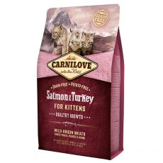 Brit CARNILOVE Salmon & Turkey Kittens 2 kg