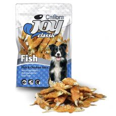 Pamlsky Calibra Joy Classic Fish & Chicken Slice 80 g
