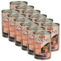 Krmivo CARNY KITTEN hovädzie, teľacie + kura 12 x 400 g