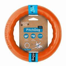 Hračka pre psa Pitch Dog 20 cm, oranžová