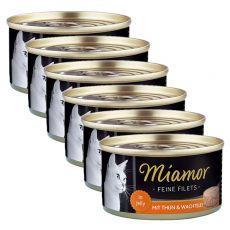 Konzerva Miamor Filet kura a prepeličie vajcia 6 x 100 g