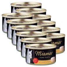 Konzerva Miamor Filet kura a cestoviny 6 x 100 g