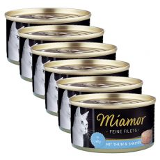 Konzerva Miamor Filet tuniak a krevety 6 x 100 g