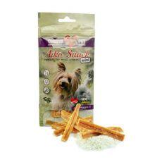 COBBYS PET AIKO SNACK MINI dentálna pochúťka s hydinovým mäsom a ryžou, 50 g