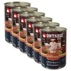 Konzerva ONTARIO Culinary Chicken Fricasse 6 x 400 g