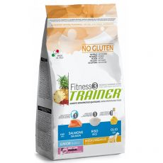 TRAINER Fitness 3 Junior Medium / Maxi Salmon & Rice 12,5 kg