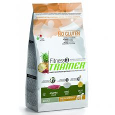 TRAINER Fitness 3 Adult Medium / Maxi Duck & Rice 3 kg