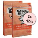 BARKING HEADS Pooched Salmon ADULT 2 x 12 kg