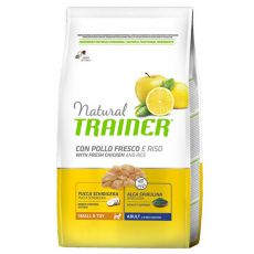 Trainer Natural Small and Toy Adult, kura a ryža 2 kg