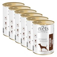 4Vets Natural Veterinary Exclusive JOINT MOBILITY 6 x 400 g