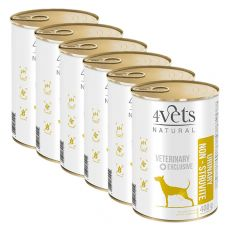 4Vets Natural Veterinary Exclusive URINARY SUPPORT 6 x 400 g