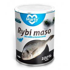 Konzerva pre mačky MARTY Premium Fish 400 g