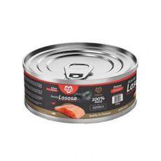 Konzerva pre mačky MARTY Deluxe Bits of Salmon 100 g