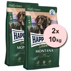 Happy Dog Supreme Sensible Montana 2 x 10 kg