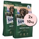 Happy Dog Supreme Sensible Montana 2 x 10 kg