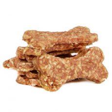 SALAČ Kosť s kuracím mäsom a ryžou 9 - 10 cm, 290 g