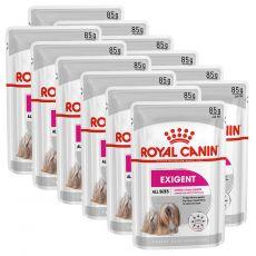 Royal Canin Exigent Dog Loaf kapsička s paštétou pre maškrtné malé psy 12 x 85 g