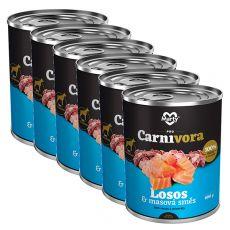 Konzerva MARTY ProCarnivora Salmon & Meat Cocktail 6 x 800 g