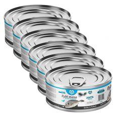Konzerva pre mačky MARTY Premium Fish 6 x 100 g