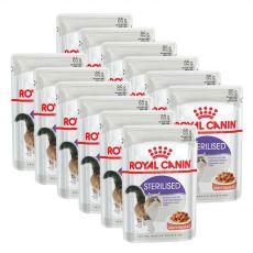 Royal Canin Sterilised Gravy kapsička pre kastrované mačky v šťave 12 x 85 g