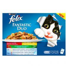 Kapsičky Felix Fantastic Duo, lahodný výber so zeleninou v želé 4 x 100 g