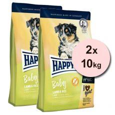 Happy Dog Baby Lamb & Rice 2 x 10kg