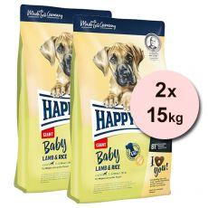 Happy Dog Baby Giant Lamb & Rice 2 x 15 kg
