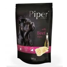 Kapsička Piper Adult s hovädzími držkami 500 g