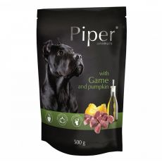 Kapsička Piper Adult s divinou a tekvicou 500 g