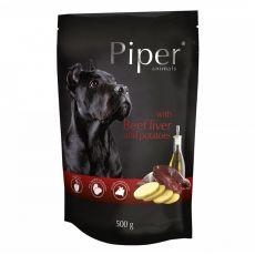 Kapsička Piper Adult s hovädzou pečeňou a zemiakmi 500 g