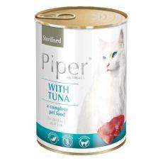 Konzerva Piper Cat Sterilised s tuniakom 400 g