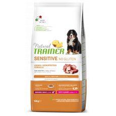 TRAINER Natural SENSITIVE No Gluten Puppy & Junior Medium / Maxi Duck 12 kg