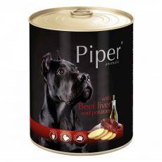 Konzerva Piper Adult s hovädzou pečeňou a zemiakmi 800 g