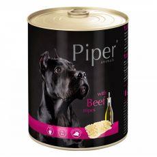 Konzerva Piper Adult s hovädzími držkami 800 g