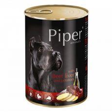 Konzerva Piper Adult s hovädzou pečeňou a zemiakmi 400 g