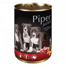 Konzerva Piper Junior hovädzie srdcia a mrkva 400 g