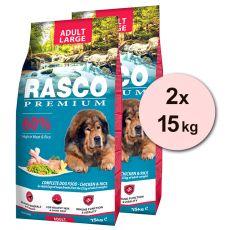 RASCO PREMIUM Adult Large 2 x 15 kg