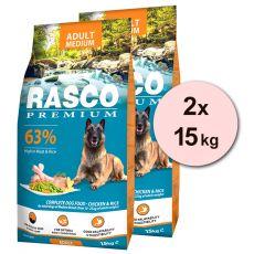 RASCO PREMIUM Adult Medium 2 x 15 kg