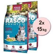 RASCO PREMIUM Senior Large 2 x 15 kg