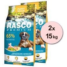 RASCO PREMIUM Puppy Medium 2 x 15 kg