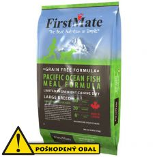 FirstMate Pacific Ocean Fish Large Breed 12,4 kg - POŠKODENÝ OBAL