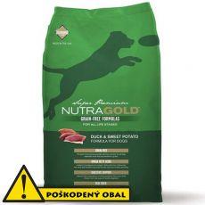 NUTRA GOLD Duck&Sweet Potato GRAIN FREE - 13,5 kg - POŠKODENÝ OBAL