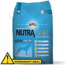 NUTRA GOLD HOLISTIC Adult dog 12kg - POŠKODENÝ OBAL