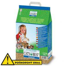 Podstielka do wc - Cats Best Universal 20 L - POŠKODENÝ OBAL