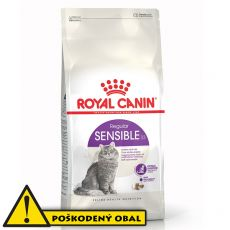 ROYAL CANIN Sensible granule pre mačky s citlivým trávením 8,9 kg - POŠKODENÝ OBAL
