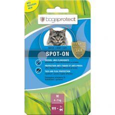 Antiparazitné kvapky pre mačky bogaprotect SPOT-ON M, 3 x 1,2 ml