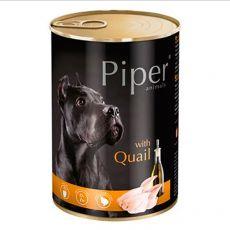 Konzerva Piper Adult s prepelicou 400 g